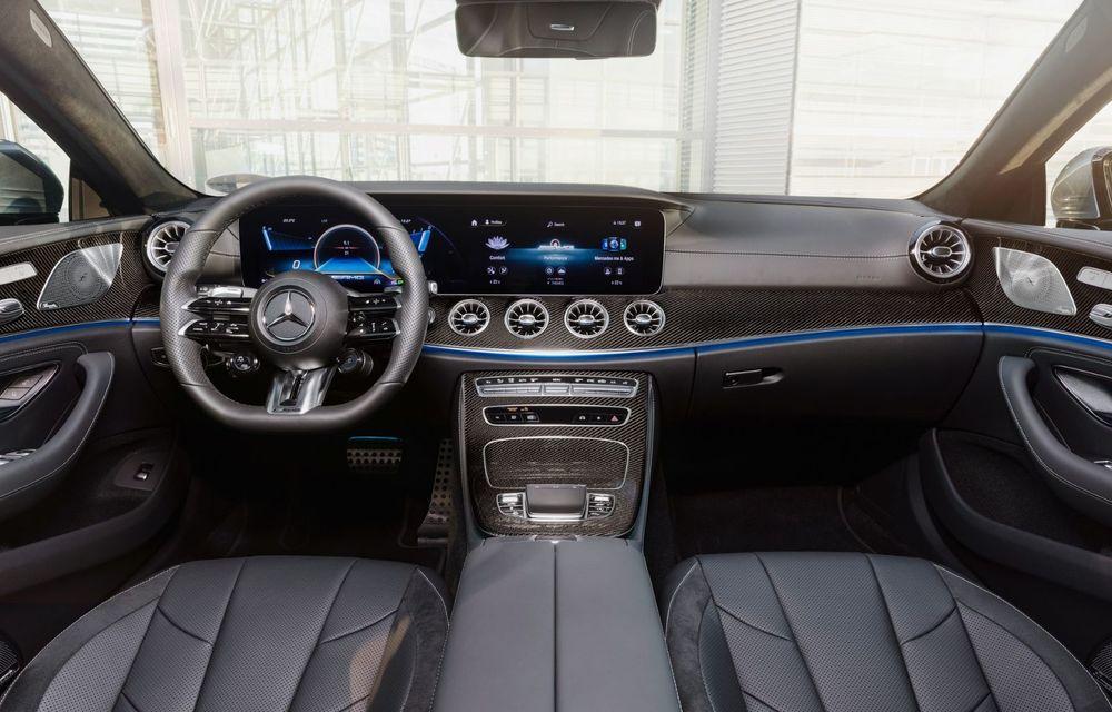 Mercedes-Benz CLS facelift: modificări estetice minore și o gamă extinsă de tapițerii - Poza 30