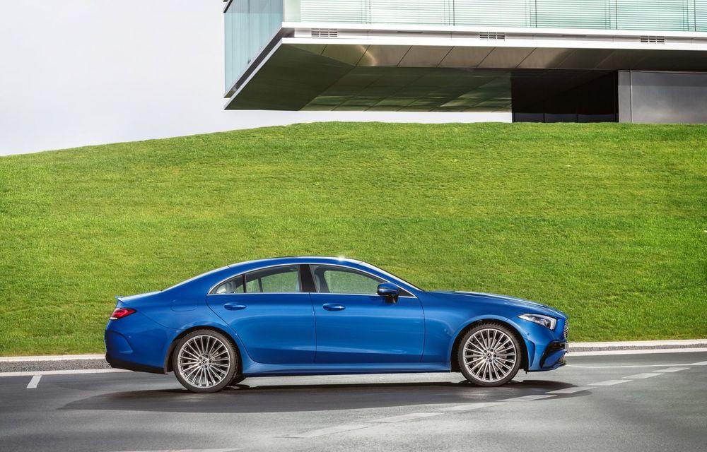 Mercedes-Benz CLS facelift: modificări estetice minore și o gamă extinsă de tapițerii - Poza 6