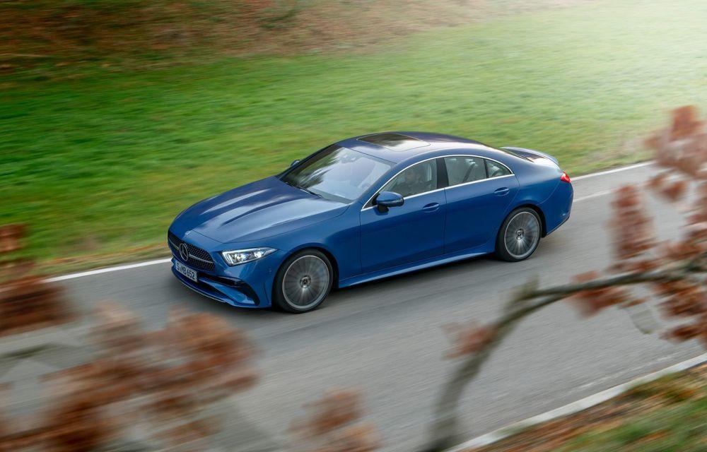 Mercedes-Benz CLS facelift: modificări estetice minore și o gamă extinsă de tapițerii - Poza 13
