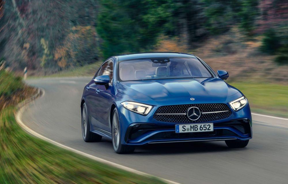Mercedes-Benz CLS facelift: modificări estetice minore și o gamă extinsă de tapițerii - Poza 12