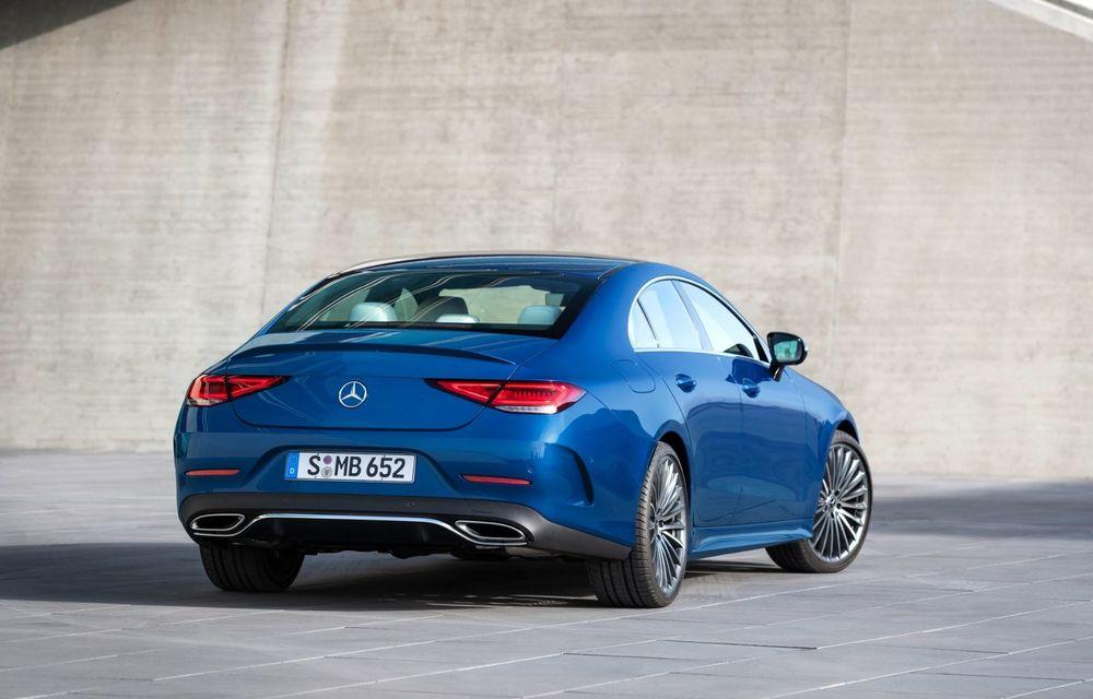 Mercedes-Benz CLS facelift: modificări estetice minore și o gamă extinsă de tapițerii - Poza 9