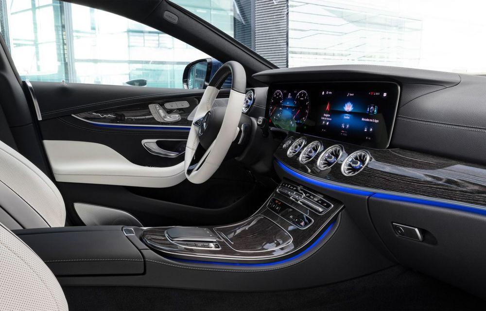 Mercedes-Benz CLS facelift: modificări estetice minore și o gamă extinsă de tapițerii - Poza 2