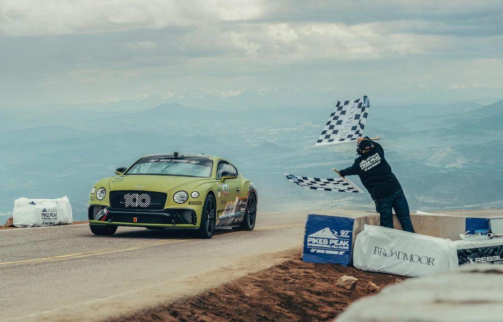 Bentley anunță ultima sa participare la Pikes Peak. Continental GT3 țintește un nou record - Poza 1