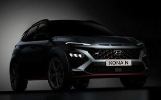 Hyundai confirmă noul Kona N: 280 CP și transmisie cu dublu ambreiaj