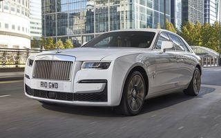 Rolls-Royce a stabilit un nou record: 1.380 de mașini vândute în primul trimestru