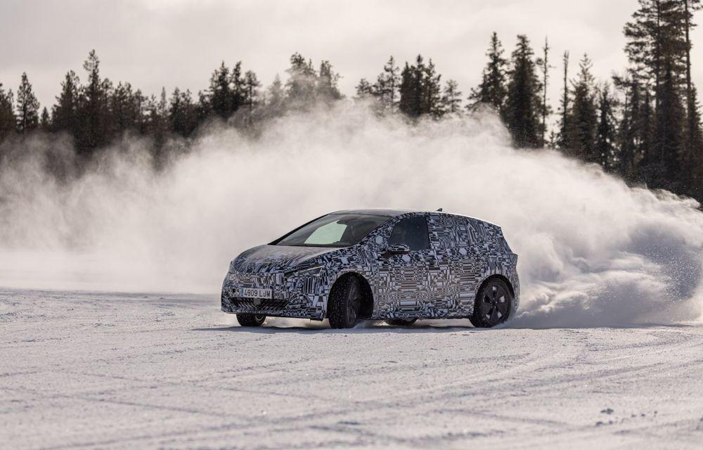 Noul Born, primul model electric Cupra, a intrat în ultimele faze de testare. Debutează la începutul lunii mai - Poza 5