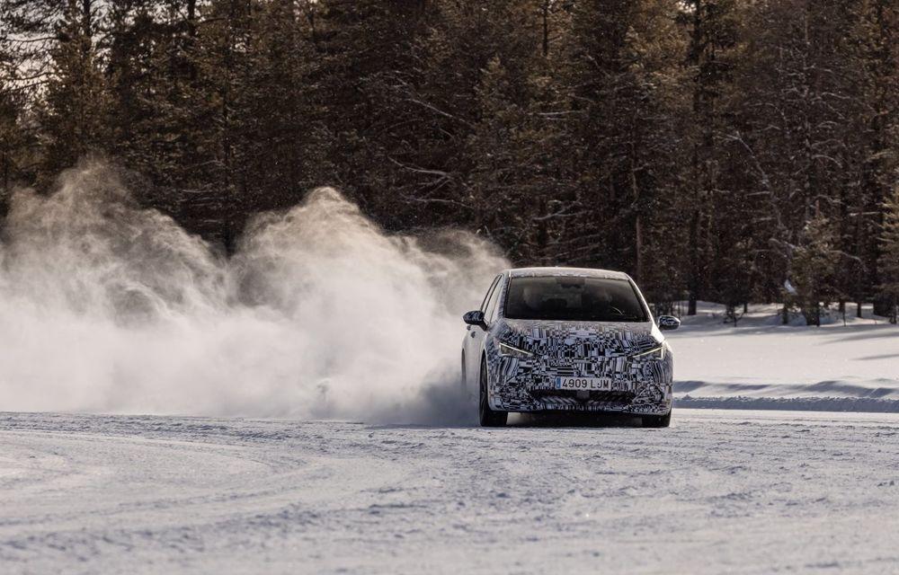 Noul Born, primul model electric Cupra, a intrat în ultimele faze de testare. Debutează la începutul lunii mai - Poza 9