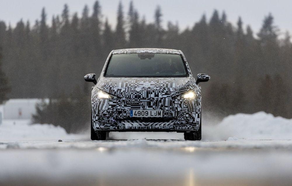 Noul Born, primul model electric Cupra, a intrat în ultimele faze de testare. Debutează la începutul lunii mai - Poza 2