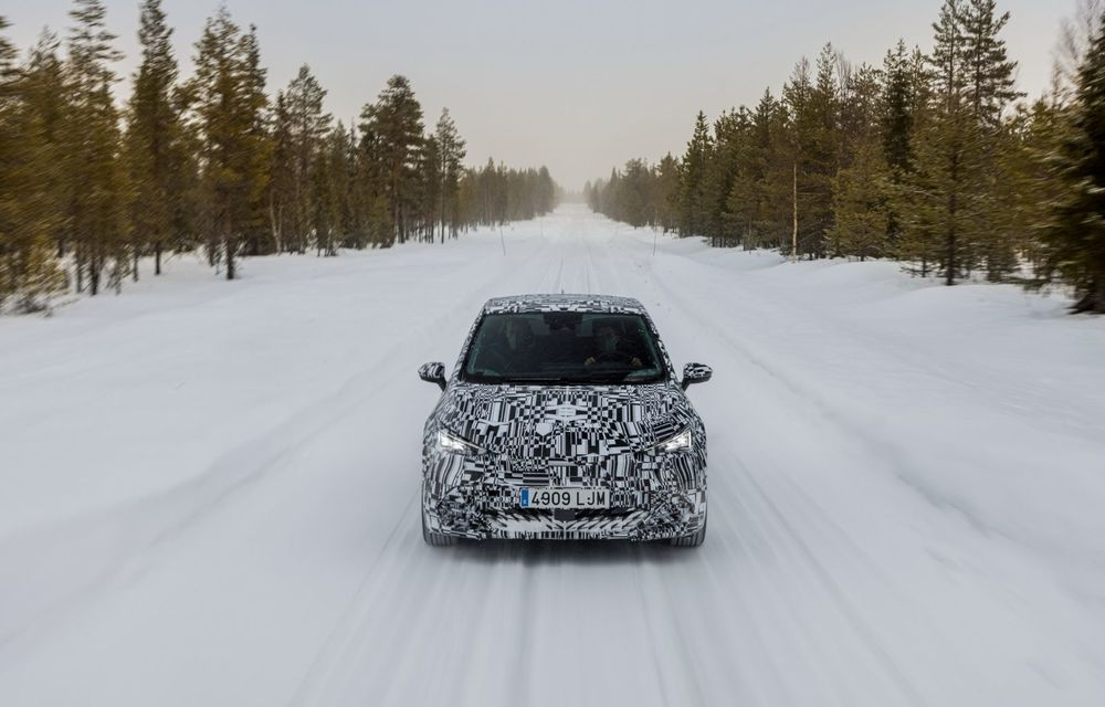 Noul Born, primul model electric Cupra, a intrat în ultimele faze de testare. Debutează la începutul lunii mai - Poza 8