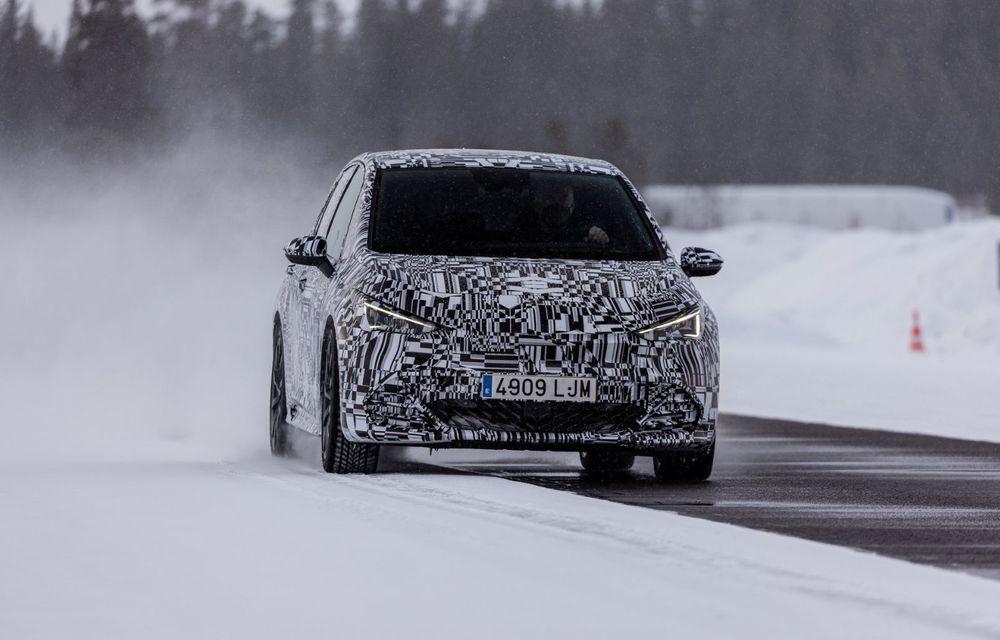 Noul Born, primul model electric Cupra, a intrat în ultimele faze de testare. Debutează la începutul lunii mai - Poza 7
