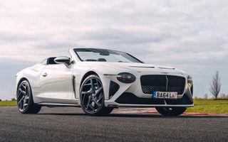 Bentley are nevoie de o săptămână ca să vopsească o jantă pentru Bacalar Roadster