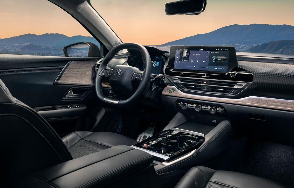 Noul Citroen C5 X: motorizare plug-in hybrid și suspensie activă Citroen Advanced Comfort - Poza 13