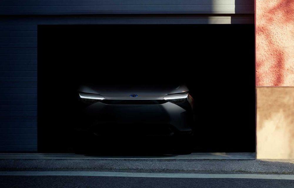 Teaser video pentru noul SUV electric Toyota. Debutează în 19 aprilie sub formă de concept - Poza 1