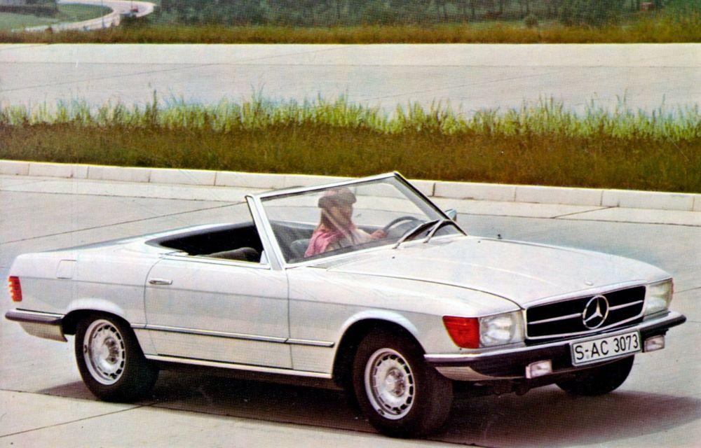 Aniversare pentru Mercedes-Benz SL. Celebra decapotabilă a împlinit 50 de ani - Poza 7