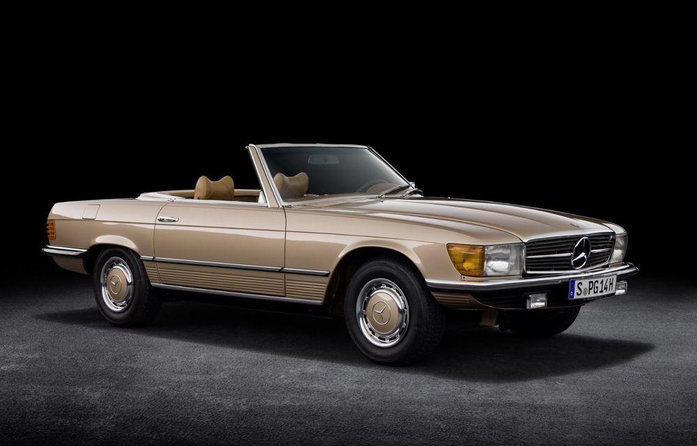 Aniversare pentru Mercedes-Benz SL. Celebra decapotabilă a împlinit 50 de ani - Poza 1