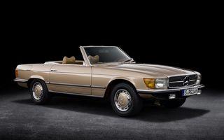 Aniversare pentru Mercedes-Benz SL. Celebra decapotabilă a împlinit 50 de ani