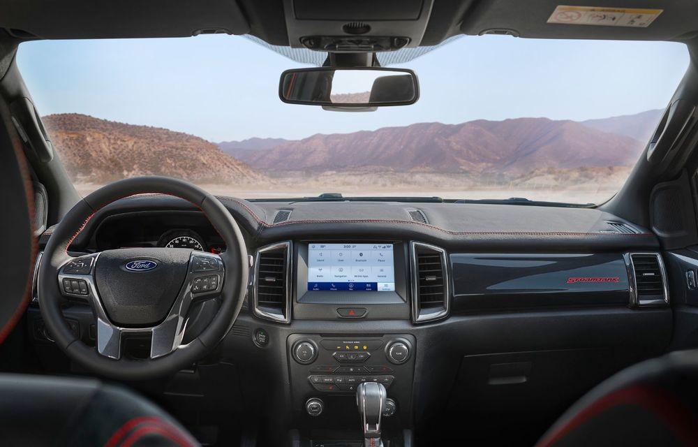 Versiuni noi pentru Ford Ranger: Stormtrak și Wolftrak vor fi comercializate într-un număr limitat de unități - Poza 7