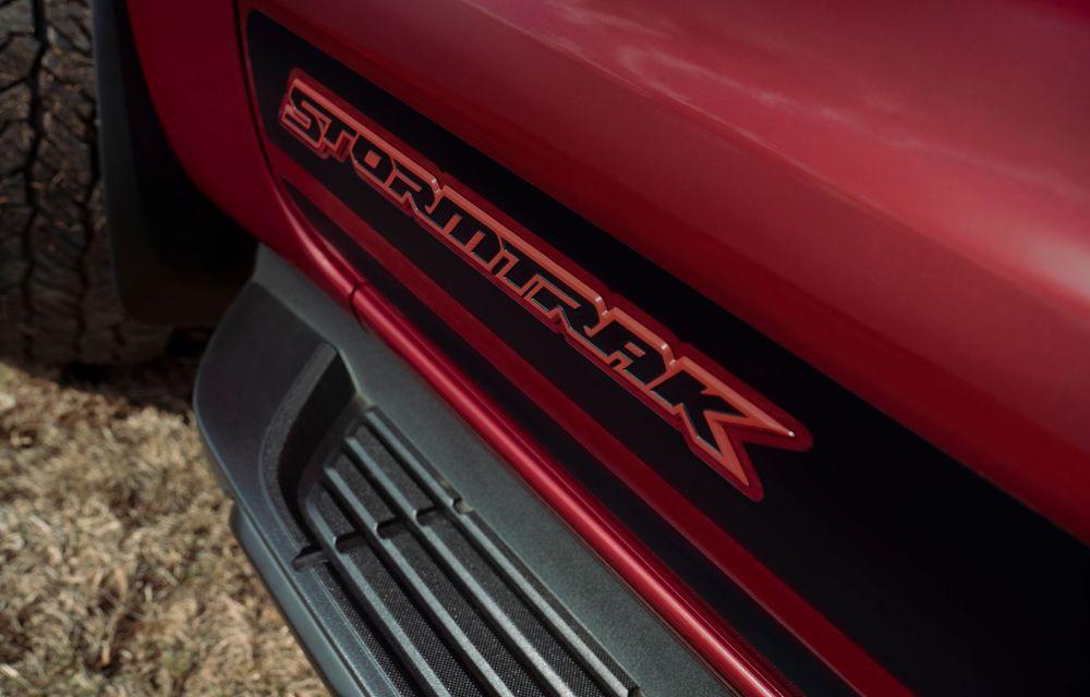 Versiuni noi pentru Ford Ranger: Stormtrak și Wolftrak vor fi comercializate într-un număr limitat de unități - Poza 5