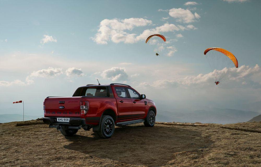 Versiuni noi pentru Ford Ranger: Stormtrak și Wolftrak vor fi comercializate într-un număr limitat de unități - Poza 4
