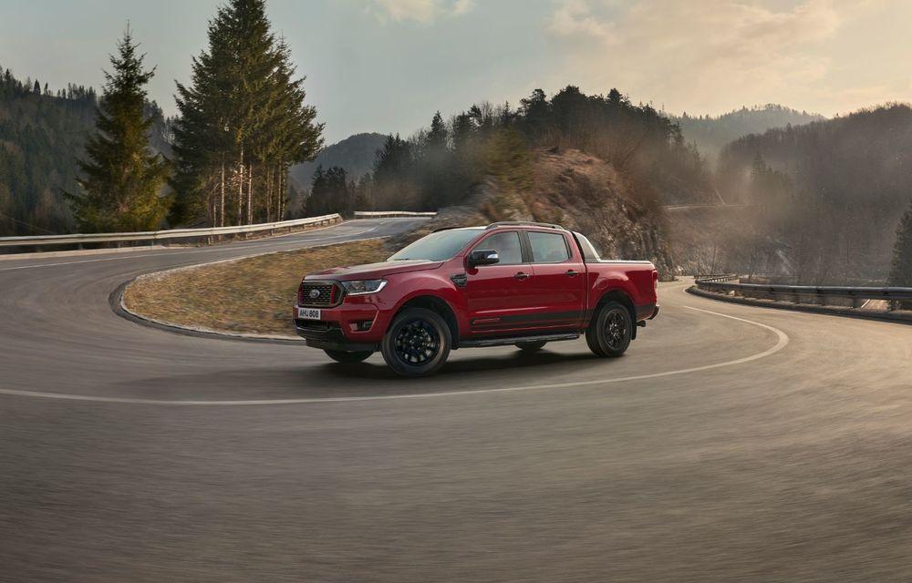 Versiuni noi pentru Ford Ranger: Stormtrak și Wolftrak vor fi comercializate într-un număr limitat de unități - Poza 2