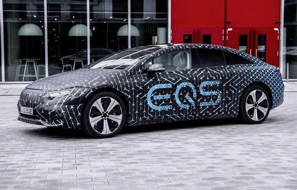 """Șeful Daimler așteaptă profituri """"rezonabile"""" după lansarea sedanului electric EQS - Poza 1"""