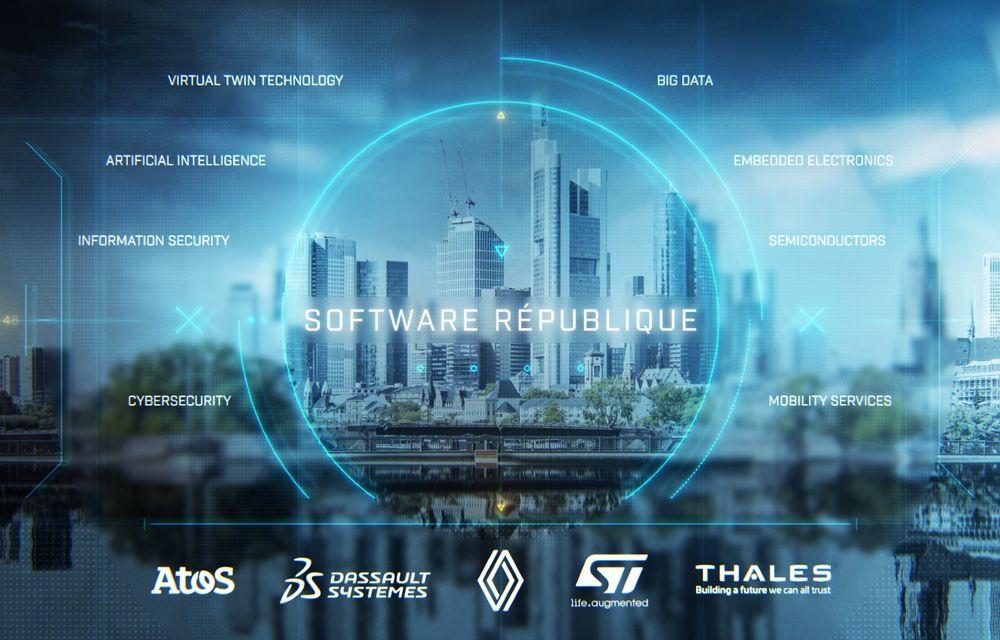 """Grupul Renault și alți giganți din domeniul tehnologiei au înființat o """"republică"""" dedicată mobilității din viitor - Poza 1"""