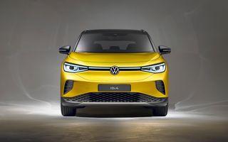 Primul teaser care anunță lansarea noului Volkswagen ID.4 GTX, versiunea sportivă a SUV-ului electric
