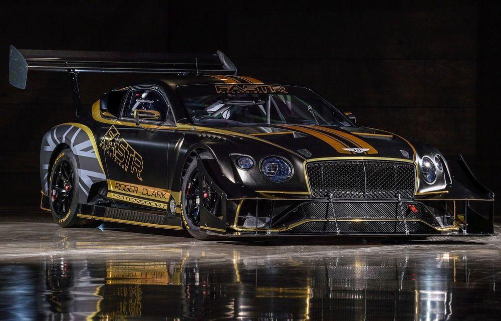 Bentley vrea să câștige cursa de la Pikes Peak cu un Continental GT3 care folosește combustibil ecologic - Poza 1