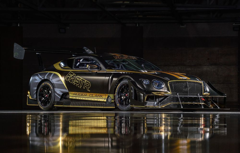 Bentley vrea să câștige cursa de la Pikes Peak cu un Continental GT3 care folosește combustibil ecologic - Poza 5