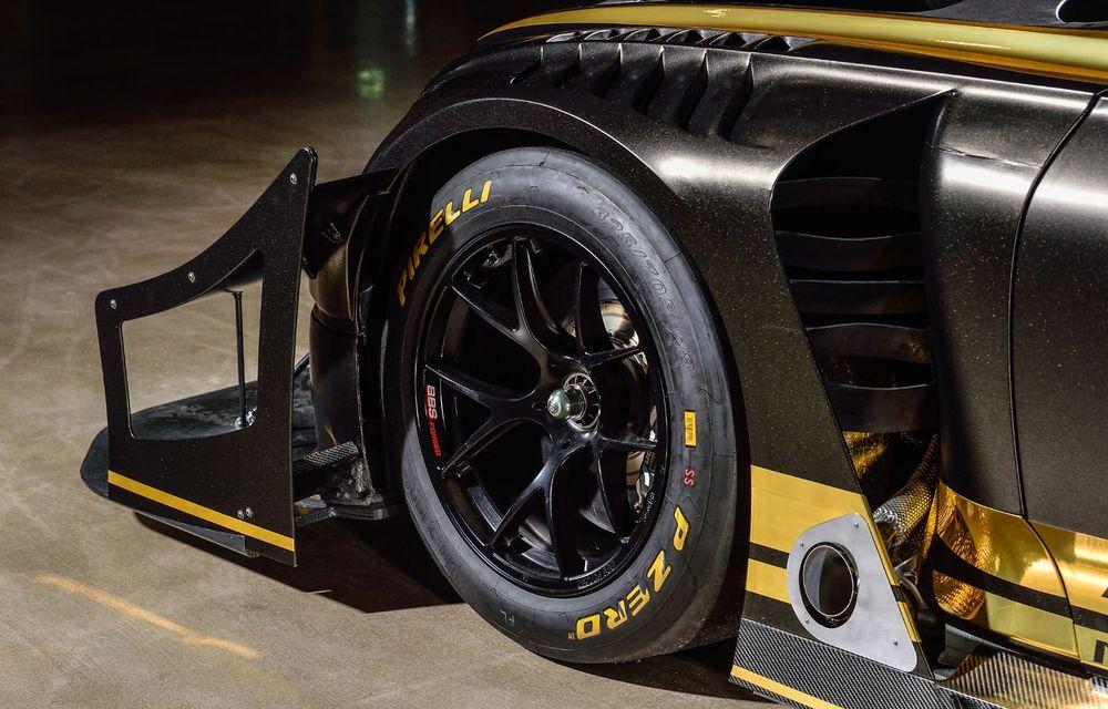 Bentley vrea să câștige cursa de la Pikes Peak cu un Continental GT3 care folosește combustibil ecologic - Poza 13