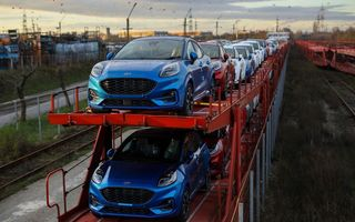 Puma, cel mai bine vândut model Ford în primul trimestru în România