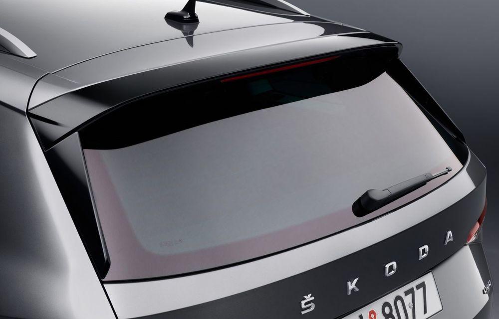 Skoda Kodiaq facelift: parte frontală restilizată și motor pe benzină pentru Kodiaq RS - Poza 40