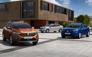 Euro NCAP anunță că Dacia Sandero și Logan au primit 2 stele la testele de siguranță