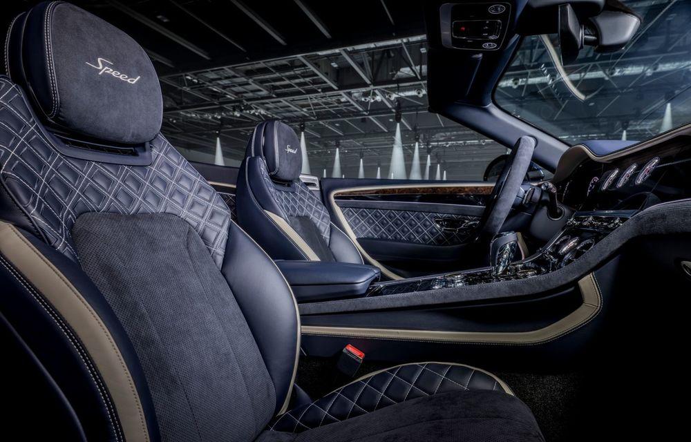 Bentley lansează noul Continental GT Speed Cabrio: 659 CP și 335 km/h viteză de top - Poza 12