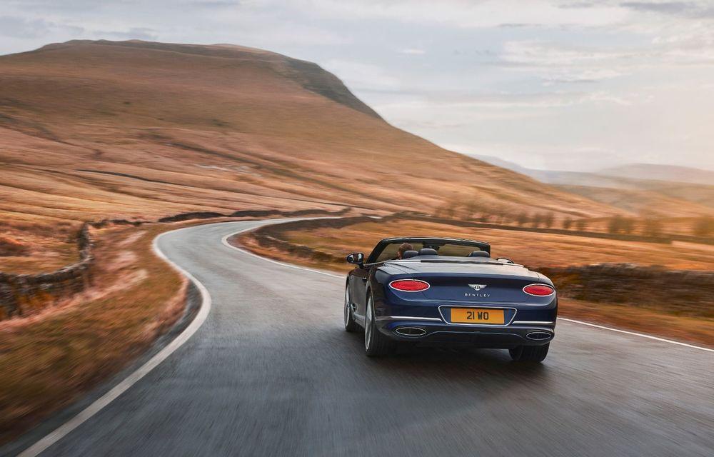 Bentley lansează noul Continental GT Speed Cabrio: 659 CP și 335 km/h viteză de top - Poza 3