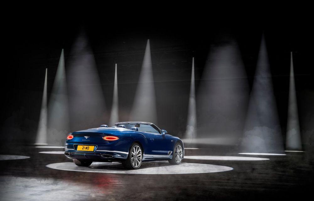 Bentley lansează noul Continental GT Speed Cabrio: 659 CP și 335 km/h viteză de top - Poza 7