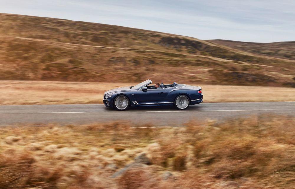 Bentley lansează noul Continental GT Speed Cabrio: 659 CP și 335 km/h viteză de top - Poza 2