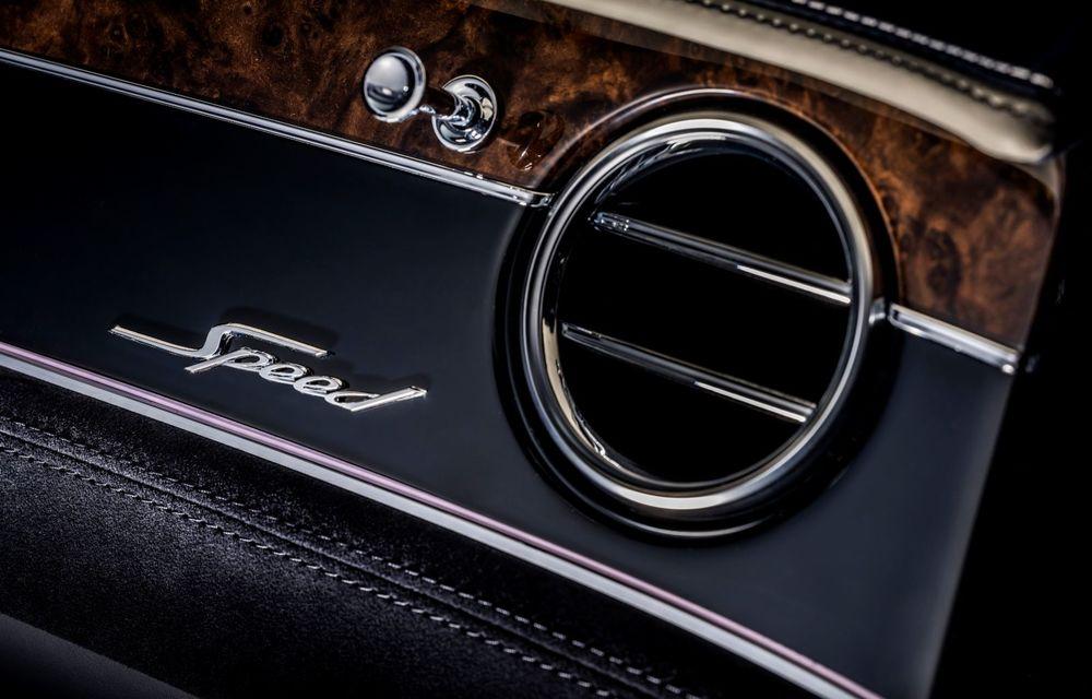 Bentley lansează noul Continental GT Speed Cabrio: 659 CP și 335 km/h viteză de top - Poza 14