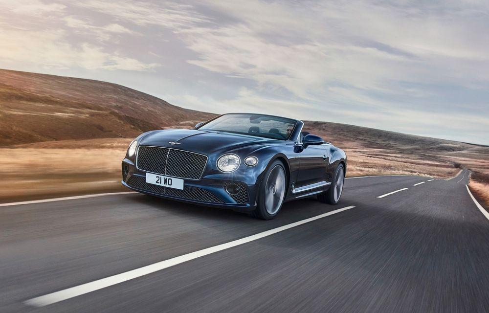 Bentley lansează noul Continental GT Speed Cabrio: 659 CP și 335 km/h viteză de top - Poza 1