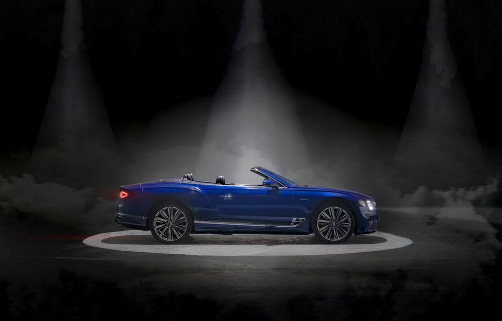Bentley lansează noul Continental GT Speed Cabrio: 659 CP și 335 km/h viteză de top - Poza 5