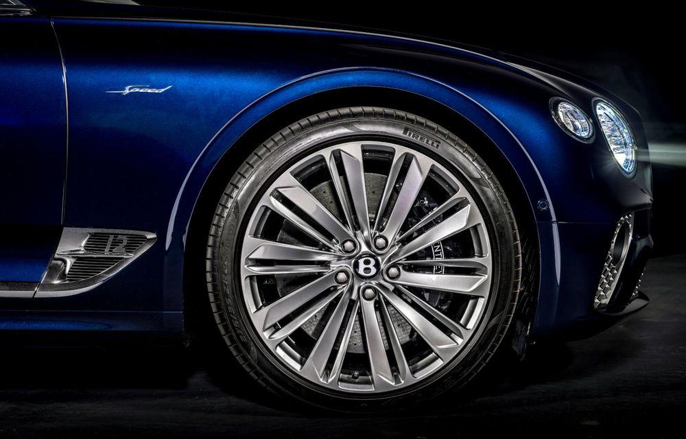 Bentley lansează noul Continental GT Speed Cabrio: 659 CP și 335 km/h viteză de top - Poza 18