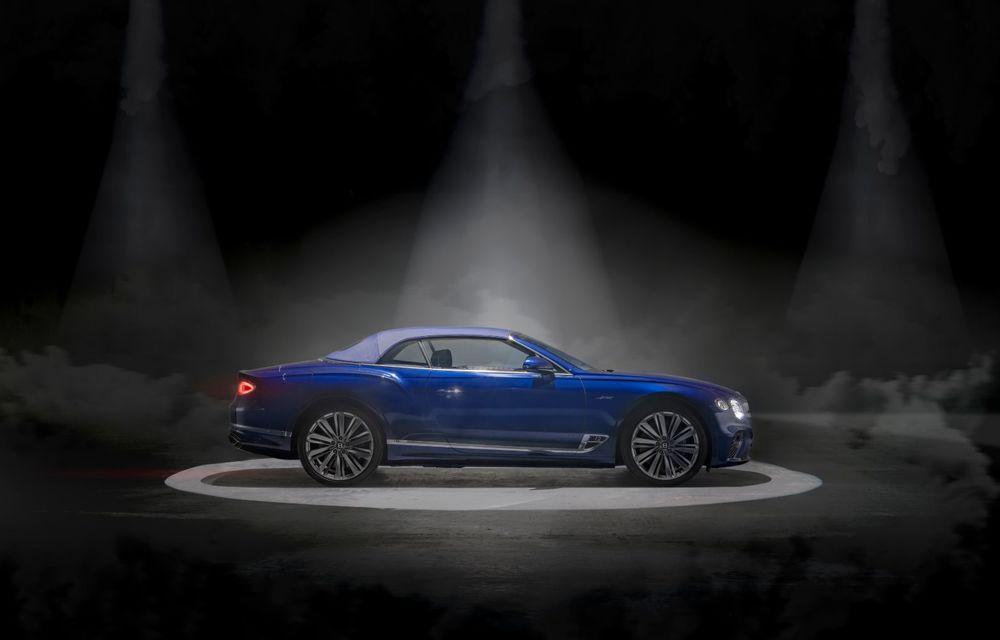 Bentley lansează noul Continental GT Speed Cabrio: 659 CP și 335 km/h viteză de top - Poza 6