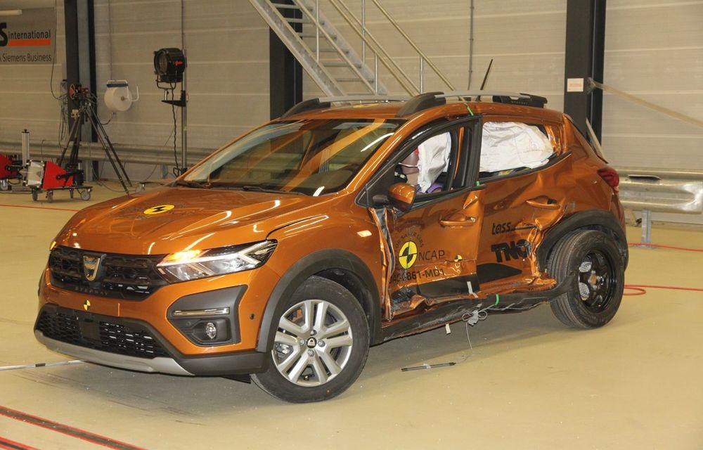 Dacia Sandero și Logan au primit 2 stele la testele EuroNCAP. Rezultatul, viciat de sistemele de siguranță - Poza 6