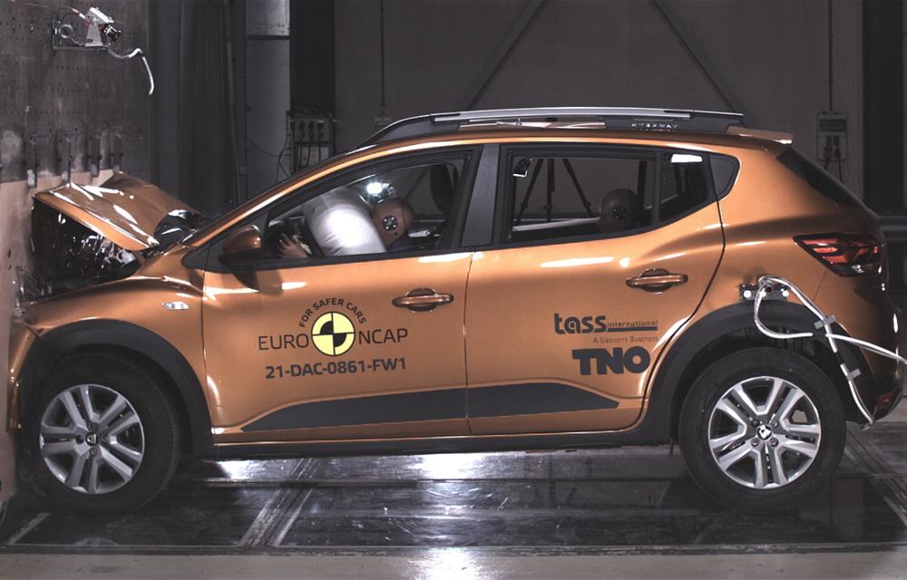 Dacia Sandero și Logan au primit 2 stele la testele EuroNCAP. Rezultatul, viciat de sistemele de siguranță - Poza 4