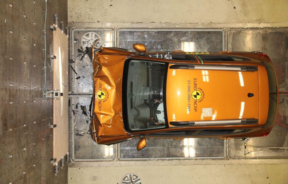 Dacia Sandero și Logan au primit 2 stele la testele EuroNCAP. Rezultatul, viciat de sistemele de siguranță - Poza 5