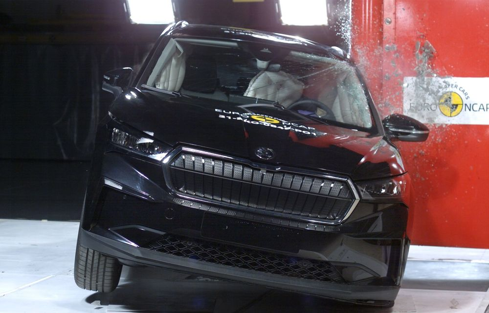 Frații electrici Skoda Enyaq iV și Volkswagen ID.4 au primit 5 stele la testele de siguranță Euro NCAP - Poza 3