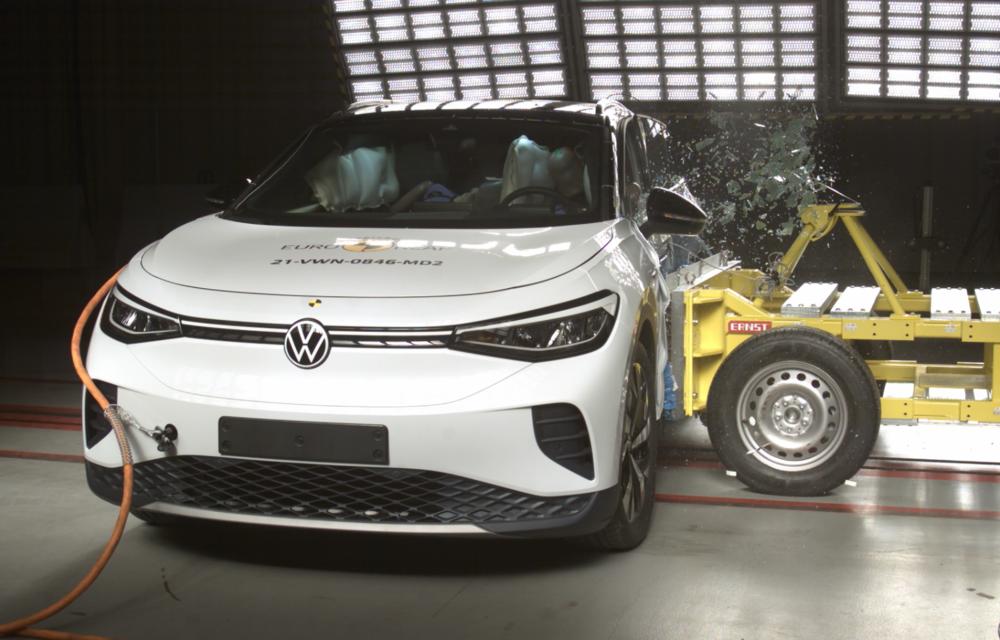 Frații electrici Skoda Enyaq iV și Volkswagen ID.4 au primit 5 stele la testele de siguranță Euro NCAP - Poza 13