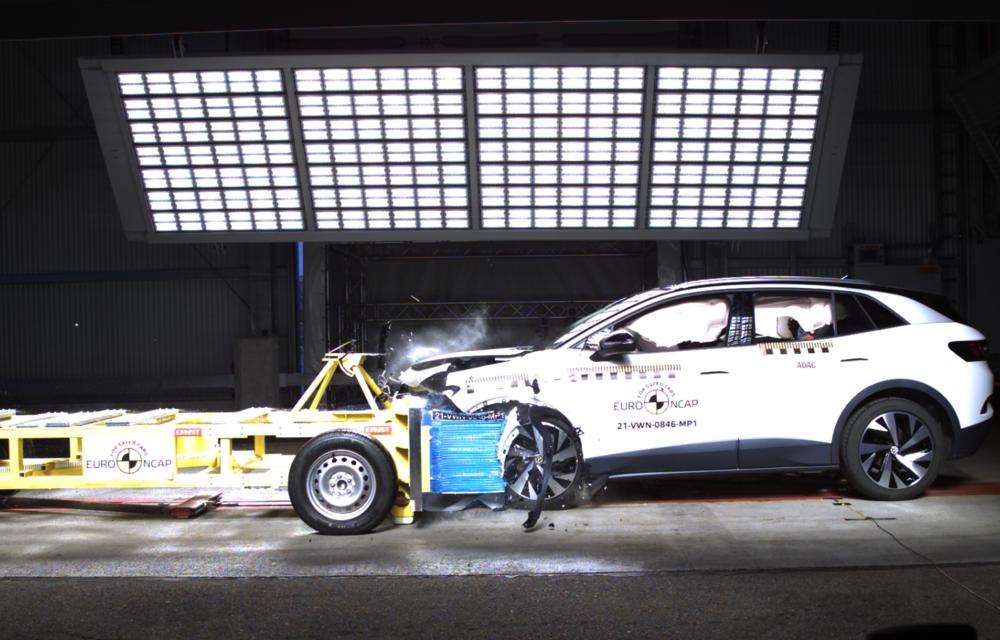 Frații electrici Skoda Enyaq iV și Volkswagen ID.4 au primit 5 stele la testele de siguranță Euro NCAP - Poza 12