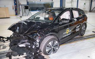 Frații electrici Skoda Enyaq iV și Volkswagen ID.4 au primit 5 stele la testele de siguranță Euro NCAP