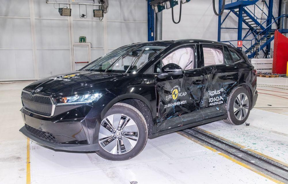 Frații electrici Skoda Enyaq iV și Volkswagen ID.4 au primit 5 stele la testele de siguranță Euro NCAP - Poza 10